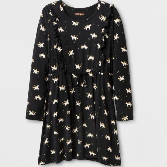 619fea82f192 Cat & Jack Dresses | Cat And Jack Unicorn Print Dress | Poshmark